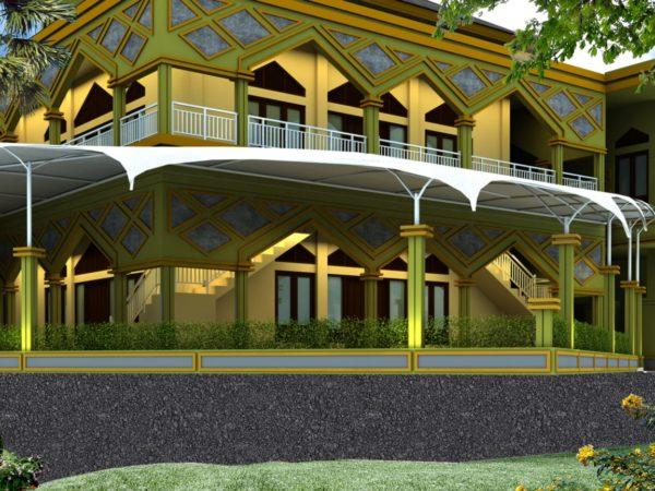 Proposal Pembangunan Kanopi Masjid Assalam