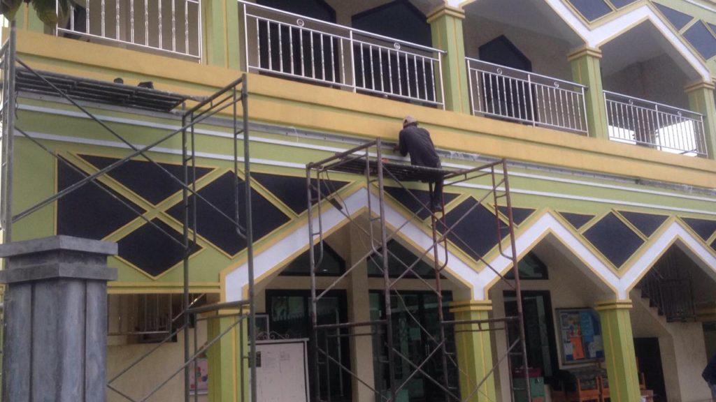 Progress Pembangunan Kanopi
