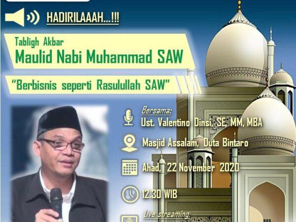 Tabligh Akbar Maulid Nabi Muhammad SAW